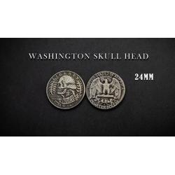 WASHINGTON SKULL HEAD COIN wwww.magiedirecte.com