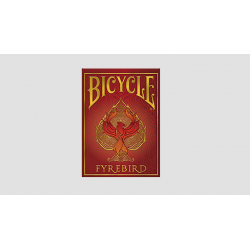 Bicycle Fyrebird Playing Cards wwww.magiedirecte.com