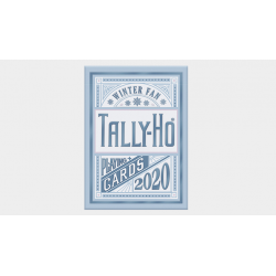 Tally-Ho Winter Fan Playing Cards wwww.magiedirecte.com