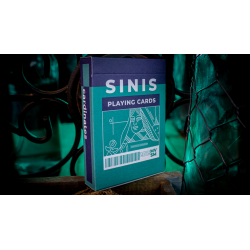 Sinis (Turquoise) Playing Cards by Marc Ventosa wwww.magiedirecte.com