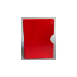 CARD GUARD (Rouge/ Plain) wwww.magiedirecte.com