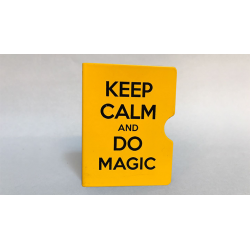 KEEP CALM AND DO MAGIC CARD GUARD (Jaune) wwww.magiedirecte.com