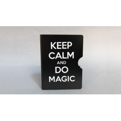 KEEP CALM AND DO MAGIC CARD GUARD (Noir) wwww.magiedirecte.com