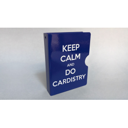 KEEP CALM AND DO CARDISTRY CARD GUARD (Bleu) wwww.magiedirecte.com