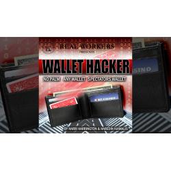 WALLET HACKER ROUGE - Joel Dickinson wwww.magiedirecte.com