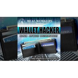 WALLET HACKER BLEU - Joel Dickinson wwww.magiedirecte.com