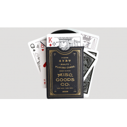 Black Playing Cards wwww.magiedirecte.com