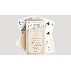 Ivory Playing Cards wwww.magiedirecte.com