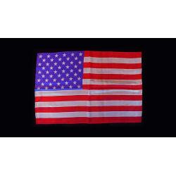 FOULARD DRAPEAUX  (American Flag - 30 cm x 45 cm) wwww.magiedirecte.com