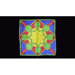 FOULARD RICE SYMPHONY (Medallion - 60 cm) wwww.magiedirecte.com