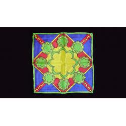 FOULARD RICE SYMPHONY  (Medallion - 30 cm) wwww.magiedirecte.com