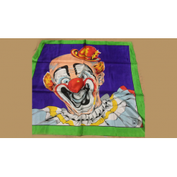 FOULARD RICE PICTURE (Circus Clown - 68 cm) wwww.magiedirecte.com