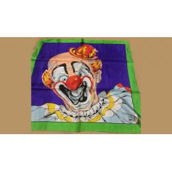 "Rice Picture Silk 27"" (Circus Clown) by Silk King Studios - Trick wwww.magiedirecte.com"
