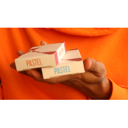 Pastels Orange Limited Edition Playing Cards wwww.magiedirecte.com