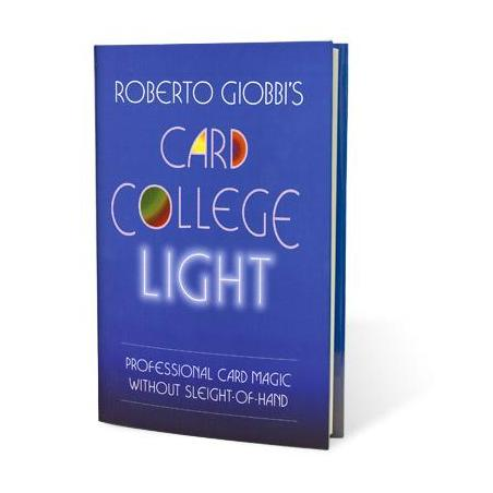 Card College Light by Roberto Giobbi - Book wwww.magiedirecte.com