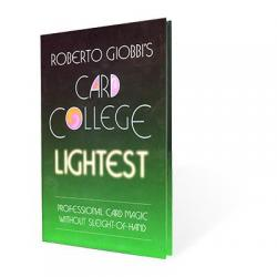 Card College Lightest by Roberto Giobbi - Book wwww.magiedirecte.com