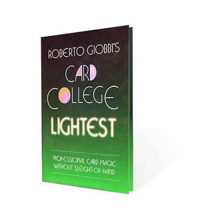 Card College Lightest by Roberto Giobbi - Book wwww.magiedirecte.com