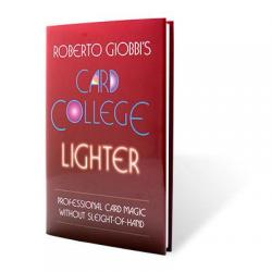 Card College Lighter by Roberto Giobbi - Book wwww.magiedirecte.com