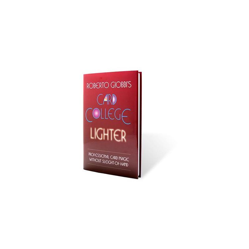 Card College Lighter by Roberto Giobbi - Book wwww.magiedirecte.com