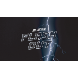 FLASH OUT (Gimmicks and Online Instructions) by James Anthony - Trick wwww.magiedirecte.com