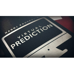 VIRTUAL PREDICTION (Gimmick and Online Instructions) by Manoj Kaushal - Trick wwww.magiedirecte.com