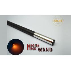 Modern Light Wand RED by Sorcier Magic wwww.magiedirecte.com