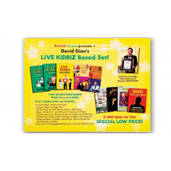 LIVE KIDBIZ BOXED SET - David Ginn wwww.magiedirecte.com