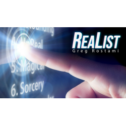 ReaList (In App Instructions) by Greg Rostami - Trick wwww.magiedirecte.com