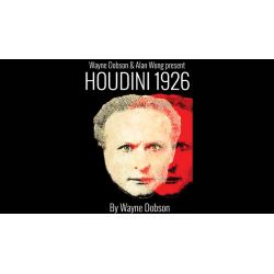 HOUDINI 1926 - Wayne Dobson & Alan Wong wwww.magiedirecte.com