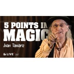 Juan Tamariz MASTER CLASS Vol. 2 - DVD wwww.magiedirecte.com