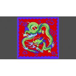 """Rice Symphony Silk 36"""" (Red Dragon) by Silk King Studios - Trick wwww.magiedirecte.com"""