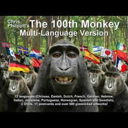 100th Monkey Multi-Language(2 DVD Set with Gimmicks) by Chris Philpott - Trick wwww.magiedirecte.com