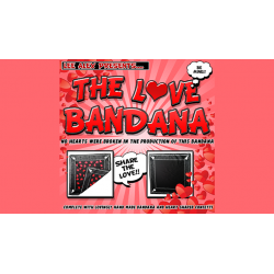 LOVE BANDANA by Lee Alex - Trick wwww.magiedirecte.com