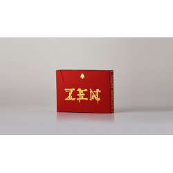 Royal Zen (RED/GOLD) Playing Cards by Expert Playing Cards wwww.magiedirecte.com