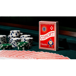 Red V2 Cohorts (Luxury-pressed E7) Playing Cards wwww.magiedirecte.com
