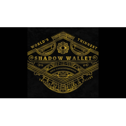 Shadow Wallet Carbon Fiber (Gimmick and Online Instructions) by Dee Christopher and 1914 - Trick wwww.magiedirecte.com