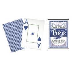 Bee Poker Jumbo Index (Blue) wwww.magiedirecte.com