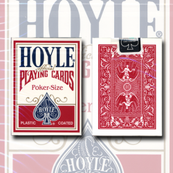 Hoyle Poker deck (red) USPCC wwww.magiedirecte.com