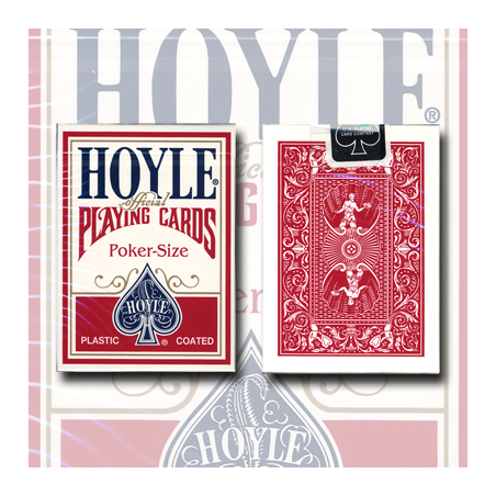 Hoyle Poker deck (red) USPCC wwww.magiedirecte.com