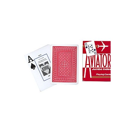 Aviator Poker size (Red) wwww.magiedirecte.com