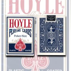 Hoyle Poker deck (blue) USPCC wwww.magiedirecte.com