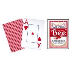 Bee Poker Jumbo Index (Red) wwww.magiedirecte.com