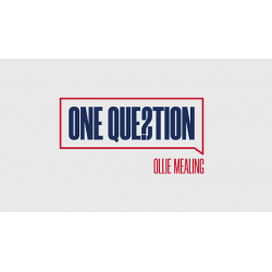 ONE QUESTION - Ollie Mealing wwww.magiedirecte.com