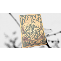Bicycle Dragonfly (Tan) Playing Cards wwww.magiedirecte.com