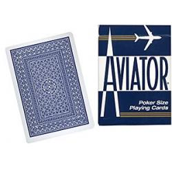 Cards Aviator Jumbo Index Poker Size (Blue) wwww.magiedirecte.com