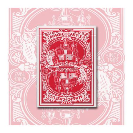 Magic Castle Cards (Red) wwww.magiedirecte.com