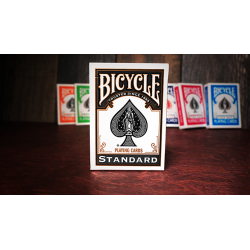 Bicycle Black Playing Cards by USPCC wwww.magiedirecte.com