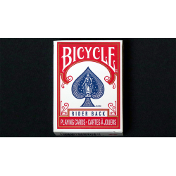 Mini Bicycle Cards (Rouge) wwww.magiedirecte.com