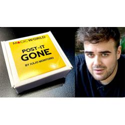 POST IT GONE - Julio Montoro wwww.magiedirecte.com