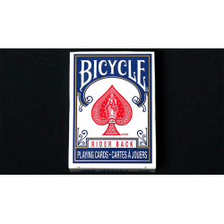 Mini Bicycle Cards (Bleu) wwww.magiedirecte.com